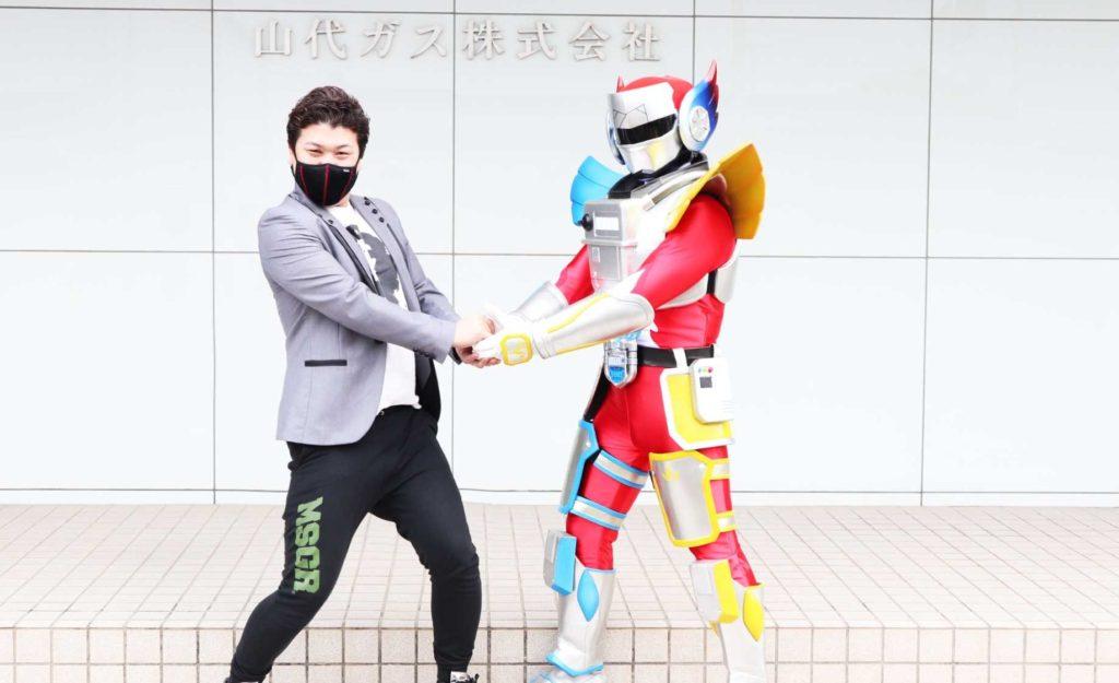 【ENTER FORCE.36】山代ガス株式会社とスポンサー契約締結